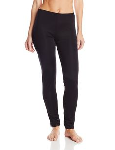 Camping Hiking : Clothing for Women :Cuddl Duds Women's Thermal Lace Edge Leggings *** See this great image Cuddle Duds, Leggings Are Not Pants, Pajama Pants, Nyc, Sweatpants, My Style, Clothes, Black, Image Link