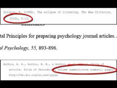 how to cite an essay in apa Video on how to cite a reference for a magazine/journal article in . Citing References, Apa Formatting, Journal Publication, Apa Style, Literary Criticism, Research Paper Outline, Chronic Kidney Disease, Newspaper Article