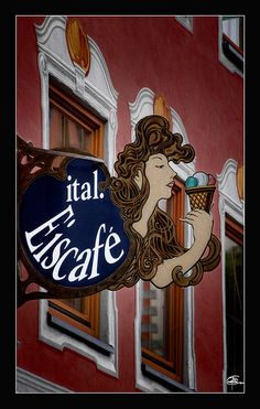 Ital. Eiscafé