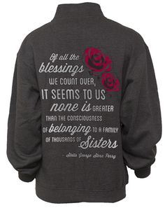 Alpha Omicron Pi Blessings Half-Zip