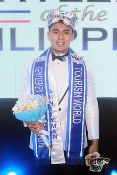 Mister Tourism World 2016 Kian Sumague. He will compete in the 1st edition of Mister Tourism World in Bali, Indonesia.