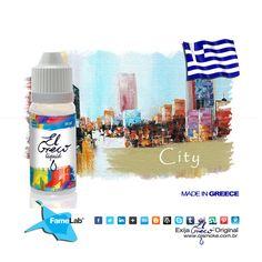 ElGreco Grecce City - LANÇAMENTO pela Qismoke