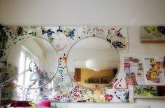 die spiegelwand wächst