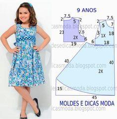 Como hacer vestidos elegantes para niñas01