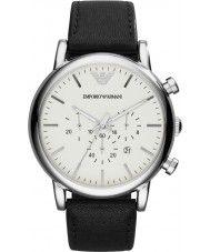 Mens Emporio Armani Mens Classic Black Chronograph Watch 129.00 Watches2U