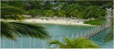 Beach at Santosa Island