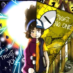 Trust You or Trust No One by Jay-bis on @DeviantArt