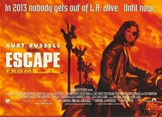 Old Tin Sign 8x12 inch Escape From L.A. Movie Metal Tin Sign From Photos Decor -- Awesome products selected by Anna Churchill