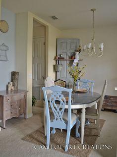 Refinished Dining Room Set