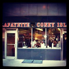 The competition between American Coney Island and Lafayette Coney Island restaurants is so fierce that there isn't a Detroiter who hasn't pledged allegiance to one shop or the other.