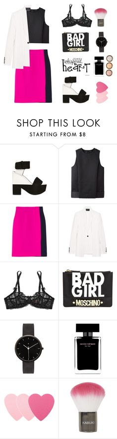 """""""Pinky , minky.."""" by gul07 ❤ liked on Polyvore featuring CÉLINE, Alexander Wang, Roksanda Ilincic, Thakoon, Agent Provocateur, Moschino, I Love Ugly, Narciso Rodriguez, Sephora Collection and Topshop"""