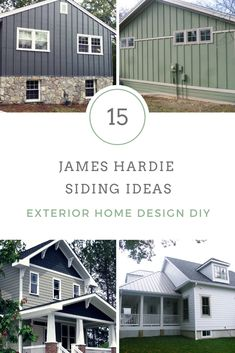 Hardie james cladding, best materials, iron grey, evening blue and more color ideas, best tips. just checkout our James Hardie guide Siding Types, Siding Cost, Siding Options, Hardie Board Siding, Board And Batten Siding, Shingle Siding, Exterior Siding Colors, Blue Siding, Exterior Design
