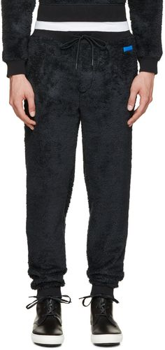 MARC BY MARC JACOBS Blue Fleece Lounge Pants. #marcbymarcjacobs #cloth #pants