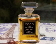Chanel Coco eau de parfum miniature bottle, 4 ml.