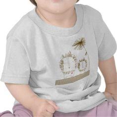 Minimalist Lion - Brown Tshirt