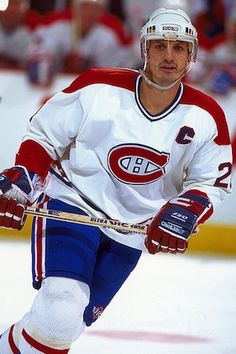 Carbonneau, Guy - Hockey - Exploraré Montreal Canadiens, Hockey Players, Motorcycle Jacket, Baseball Cards, Guys, Sports, Jackets, Classic, Showgirls