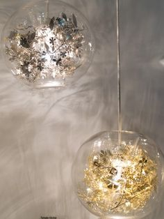 Add sparkle to lighting via Oh So Beautiful Paper