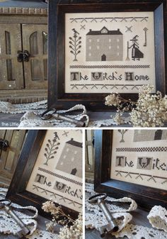 The Witch's Home - Cross Stitch Pattern by The Little Stitcher