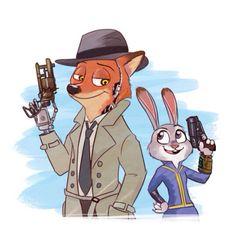 #Zootopia #Fallout4 #Nick #Judy