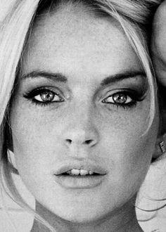 Lindsay Dee Lohan (American) (actor) (face)