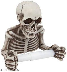 Skelet Toiletpapirholder - Toiletpapirholder