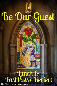 Be Our Guest Lunch Review & How to Score a FastPass+ to skip the long lunch line!