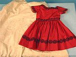 Childs Wool Dress & Embroidered Cape, 1860s Session 2 - Lot  442 - $1000