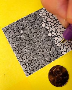 Ideas For Drawing Ideas Zentangle Circles Doodle Art Drawing, Zentangle Drawings, Mandala Drawing, Doodles Zentangles, Pencil Art Drawings, Zen Doodle, Cute Drawings, Drawing Ideas, Doodle Patterns