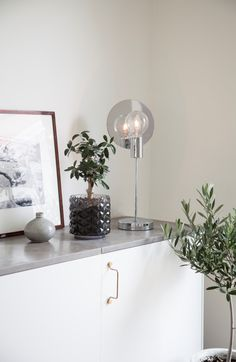 Silver metallic table lamp  Gloria designed by Malin Lund Mark	  #sessakdesign #sessaklighting #sessak #lighting #sisustus #valaisin #new #newin #pöytävalaisin #interior #inredning #interior #Vintage #Modern #Minimalistic