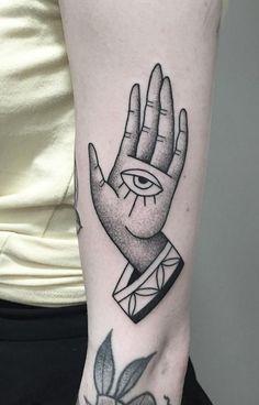 Hand of Sight Tattoo