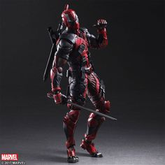 DEADPOOL MARVEL UNIVERSE VARIANT PLAY ARTS KAI ACTION FIGURE: $22.32 End Date: Monday Apr-16-2018 23:43:30 PDT Buy It Now for only: $22.32…