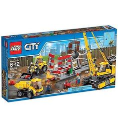 ﹩89.99. LEGO City Demolition Site (60076), New in Box, Sealed    Character Family - City, Recommended Age Range - 6-12, LEGO Theme - City, Piece Count - 776, Packaging - Box,