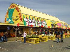 The Big Yellow Barn: Minnesota's Largest Candy Store | Jordan, MN  Tips: Bring Cash