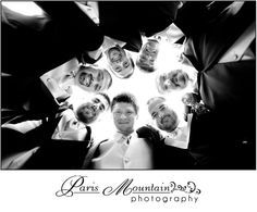 Paris Mountain Photography groomsmen wedding group photos  fun poses