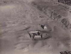 Gizeh from the sky over Giza, February 14, 1924