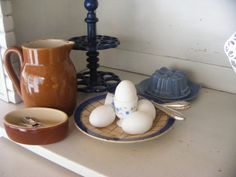 Frans paté schaaltje / French pâté dish  @ de tijd van toen.net * Brocante & Styling *