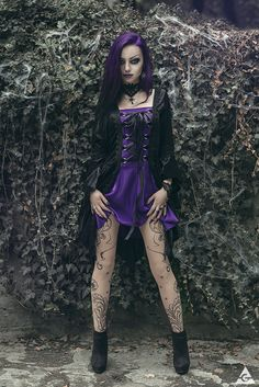 Model, MUA: Darya Goncharova Photographer: Antonia Glaskova | photography page Jewelry: Aeternum Nocturne Gothic jewelry Dress: Sinister from The Gothic Shop Assistance: Mirsea's Wonderland for:...