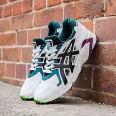 uk availability b9f40 ea164 Asics Gel-DS Trainer OG White   Black