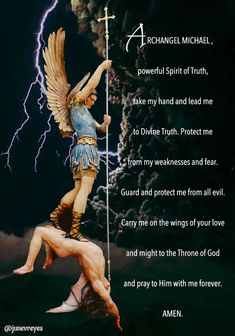 Michael the Archangel. Roman Catholic Prayers, Catholic Quotes, Catholic Saints, St. Michael, Saint Michael, God Prayer, Power Of Prayer, Angel Prayers, Special Prayers
