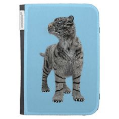 #White #Tiger #Kindle 3 #Covers