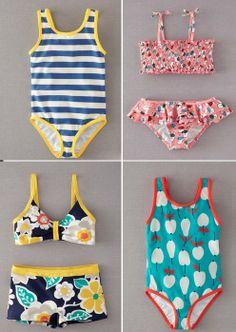Cute Kids Bathing suits