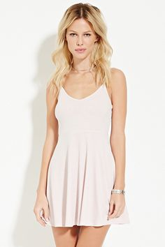 Ribbed Skater Dress | forever21 | wouldn't mind having all colors