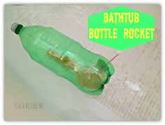Bathtub Bottle Rocket