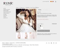Tienda online de ropa ICONIC Barcelona #webdesign #web #ecommerce #fashion