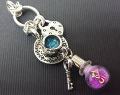 Once Upon A Time Rumbelle Charm Pendant, Rumplestiltskin and Belle, True Love Charm