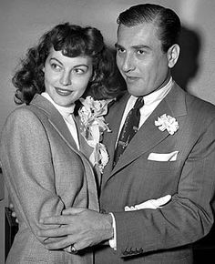 Gardner's second marriage was brief as well, to jazz musician and bandleader Artie Shaw, from 1945 to 1946. Shaw had previously been married to Lana Turner. https://en.wikipedia.org/wiki/Ava_Gardner