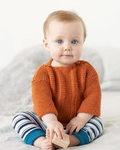 Pullover & Bonnet Pattern - Cleckheaton Superfine