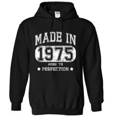 Made in 1975 Aged to Perfection T Shirts, Hoodie. Shopping Online Now ==►…