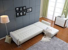 "Marion 74"" Sleeper Sectional Sofa"