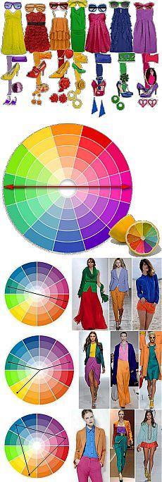 Сочетание цветов: Цветовой круг | ПолонСил.ру - социальная сеть здоровья